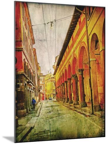 Streets of Italy IV-Robert Mcclintock-Mounted Art Print