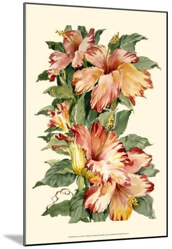 Hibiscus II-Joy Waldman-Mounted Art Print