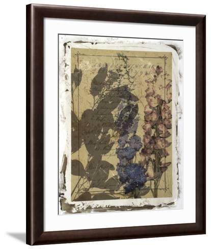 Handwritten Wildflowers I-Jennifer Goldberger-Framed Art Print