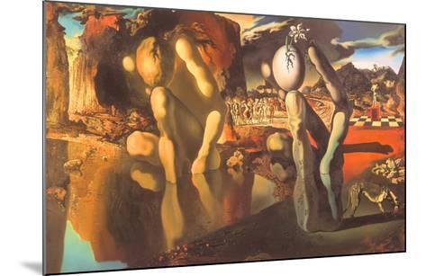 Metamorphosis of Narcissus, 1937-Salvador Dal?-Mounted Art Print