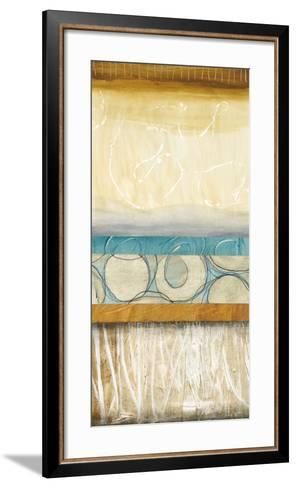 Blowing Bubbles II-Laurie Fields-Framed Art Print