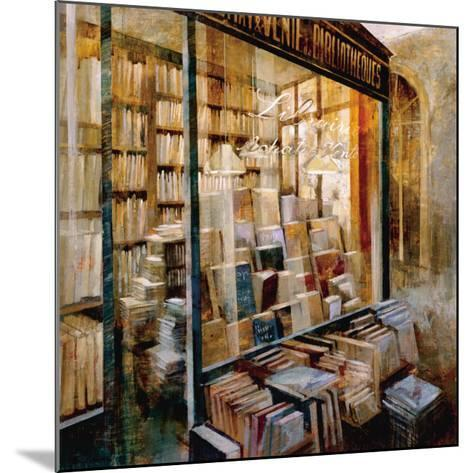 Librairie-Noemi Martin-Mounted Art Print