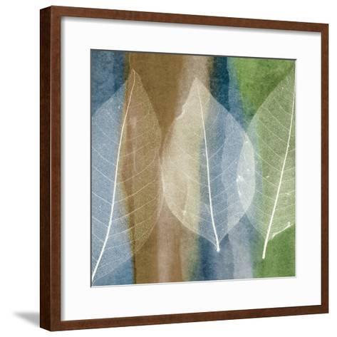Leaf Structure II-John Rehner-Framed Art Print
