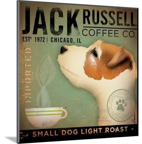 Jack Russel Coffee Co.-Stephen Fowler-Mounted Art Print