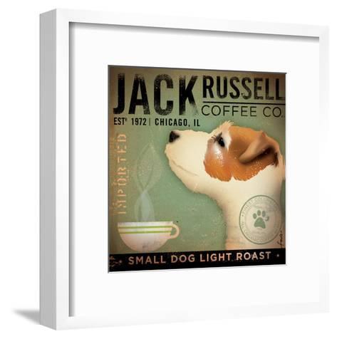 Jack Russel Coffee Co.-Stephen Fowler-Framed Art Print