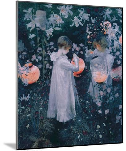 Carnation, Lily, Lily, Rose-John Singer Sargent-Mounted Giclee Print