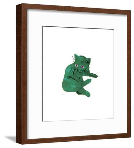 Green Cat, c.1956-Andy Warhol-Framed Art Print