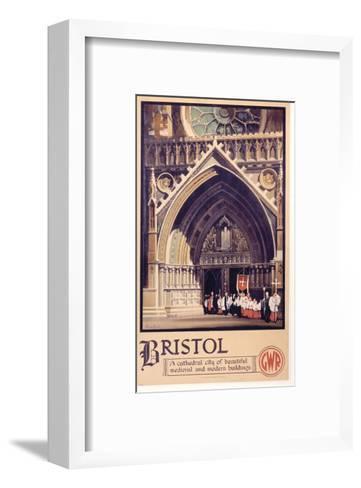 Bristol Cathedral Choir--Framed Art Print