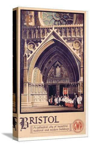 Bristol Cathedral Choir--Stretched Canvas Print