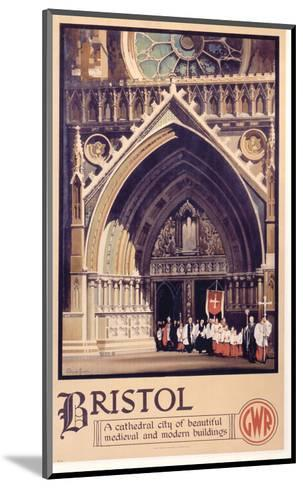Bristol Cathedral Choir--Mounted Art Print