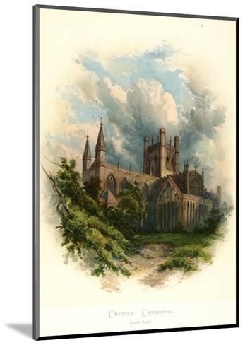 Chester Cathedral, North East-Arthur Wilde Parsons-Mounted Art Print
