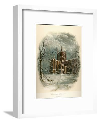 Hereford Cathedral, North West-Arthur Wilde Parsons-Framed Art Print