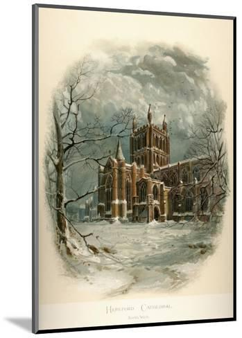 Hereford Cathedral, North West-Arthur Wilde Parsons-Mounted Art Print