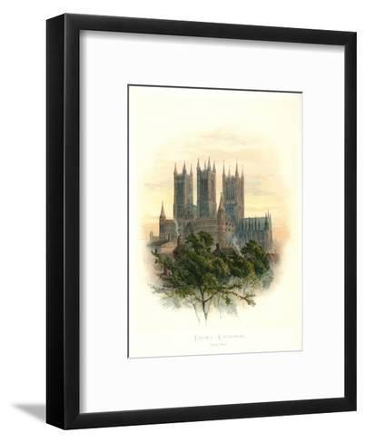 Lincoln Cathedral-Arthur Wilde Parsons-Framed Art Print