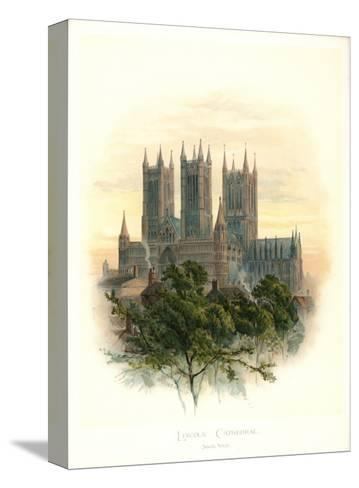 Lincoln Cathedral-Arthur Wilde Parsons-Stretched Canvas Print