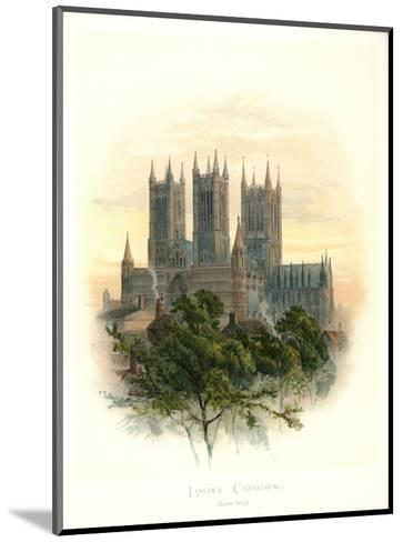 Lincoln Cathedral-Arthur Wilde Parsons-Mounted Art Print