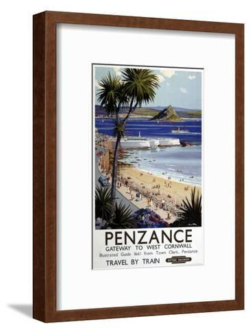 Penzance Gateway to West Cornwall--Framed Art Print