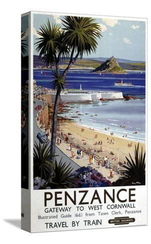 Penzance Gateway to West Cornwall--Stretched Canvas Print