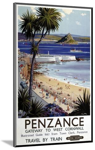 Penzance Gateway to West Cornwall--Mounted Art Print