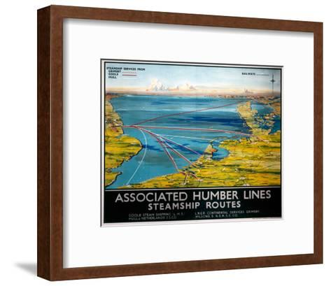 Associated Humber Lines--Framed Art Print