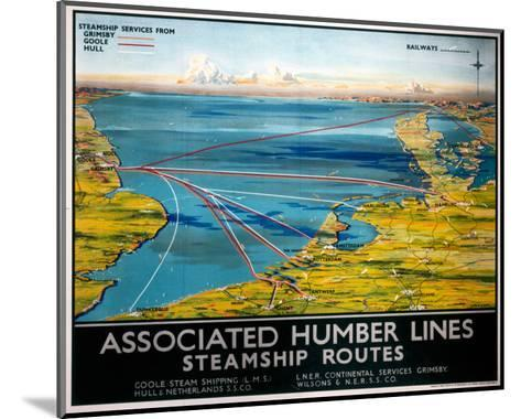 Associated Humber Lines--Mounted Art Print