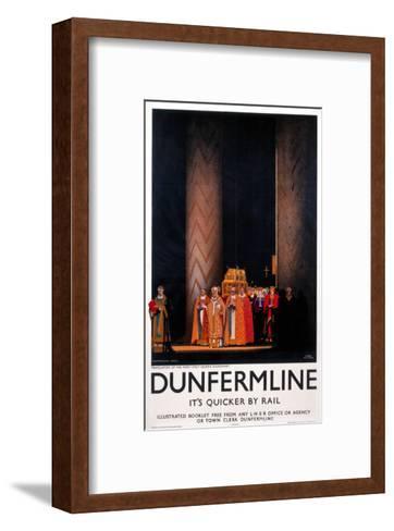 Dunfermline--Framed Art Print