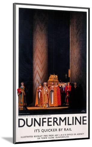 Dunfermline--Mounted Art Print
