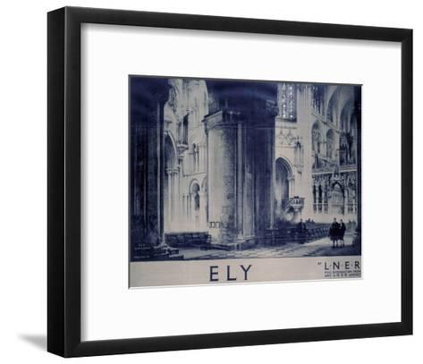 Inside Ely Cathedral--Framed Art Print