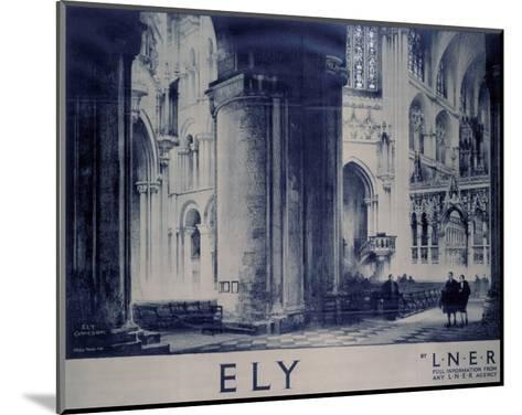 Inside Ely Cathedral--Mounted Art Print