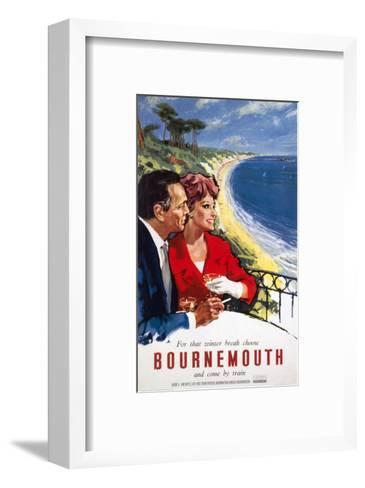 Bournemouth Couple--Framed Art Print