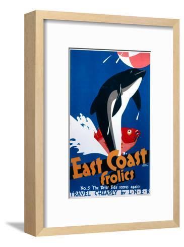 East Coast Frolics--Framed Art Print