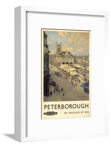 Peterborough View of Market--Framed Art Print