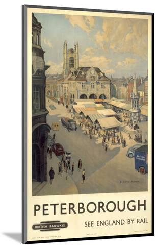 Peterborough View of Market--Mounted Art Print
