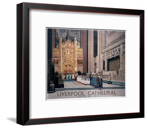 Liverpool Cathedral II--Framed Art Print