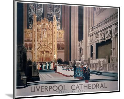 Liverpool Cathedral II--Mounted Art Print