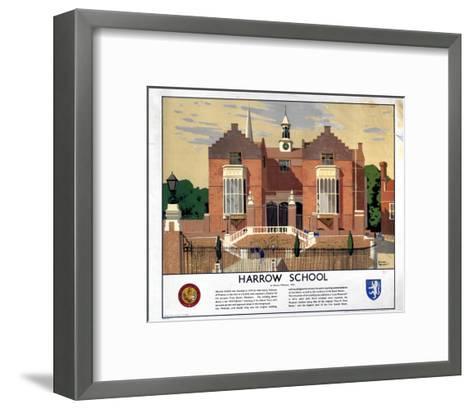 Harrow School--Framed Art Print