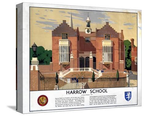 Harrow School--Stretched Canvas Print