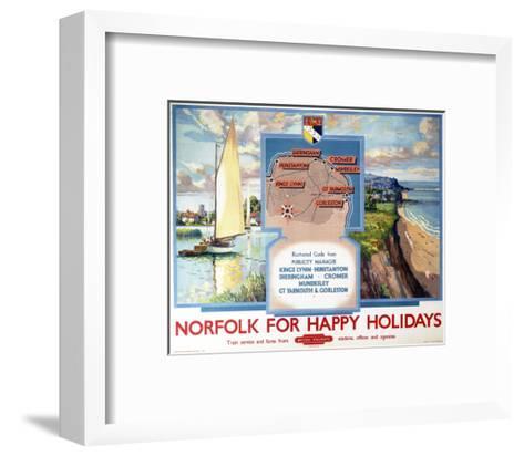 Norfolk for Happy Holidays--Framed Art Print