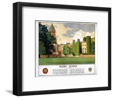 Rugby School--Framed Art Print