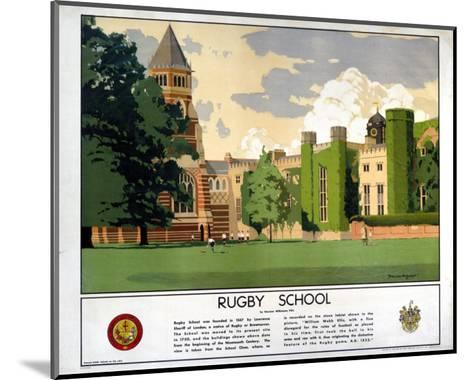 Rugby School--Mounted Art Print