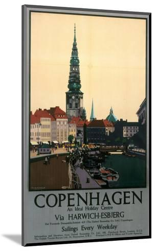 Copenhagen--Mounted Art Print