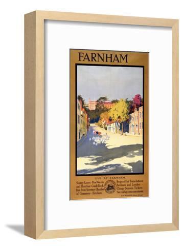 Farnham Sheep--Framed Art Print
