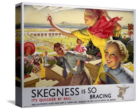 Skegness, Travel by Rail--Stretched Canvas Print