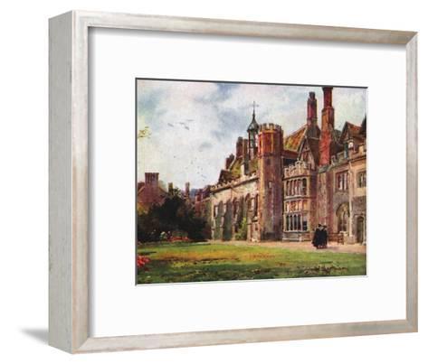Peterhouse from Fellows Garden--Framed Art Print