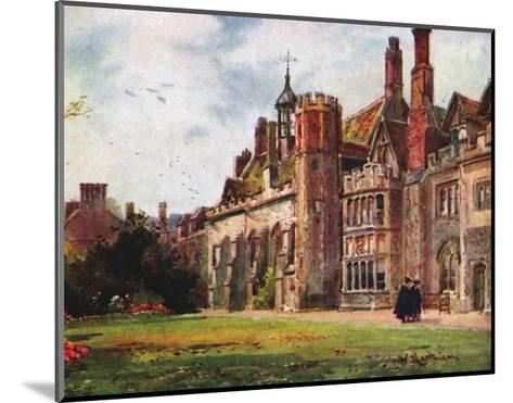 Peterhouse from Fellows Garden--Mounted Art Print