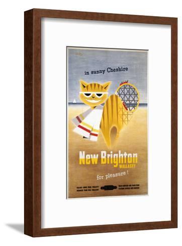 New Brighton Cat--Framed Art Print
