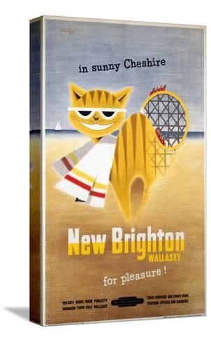 New Brighton Cat--Stretched Canvas Print