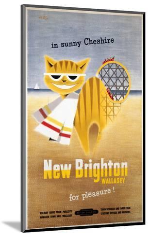 New Brighton Cat--Mounted Art Print