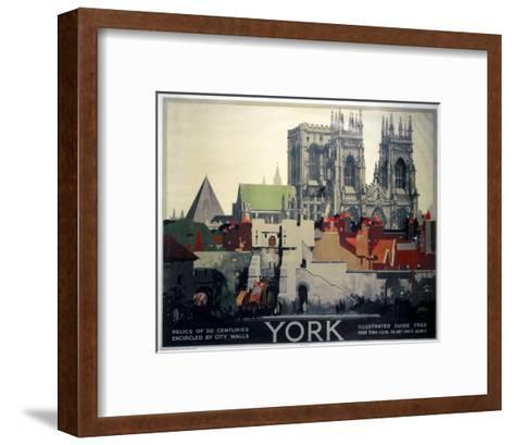 York Relics of 20 Centuries--Framed Art Print