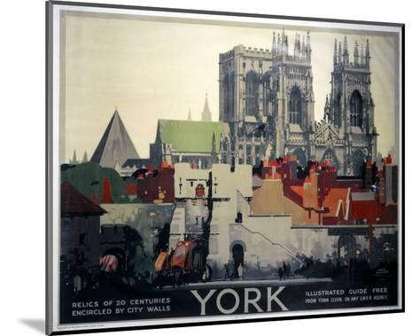 York Relics of 20 Centuries--Mounted Art Print